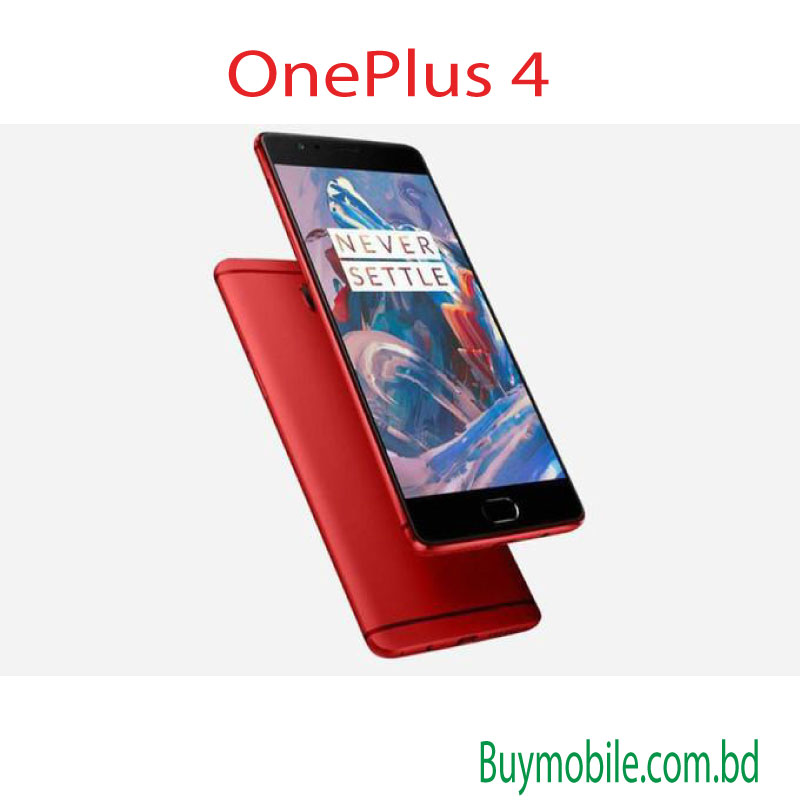 OnePlus 4 with innovative design and unique feature