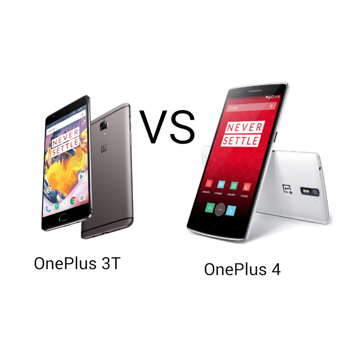 OnePlus 4 VS OnePlus 3T, specification point of View