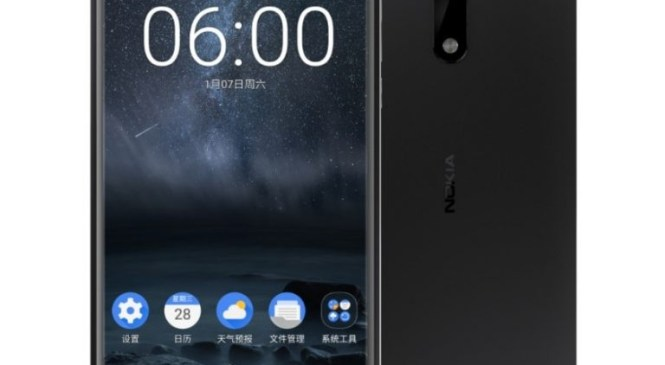 Nokia 6 's Specifications