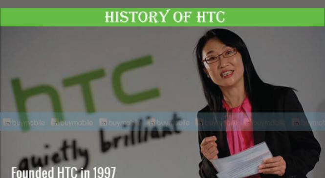 History of HTC Phones