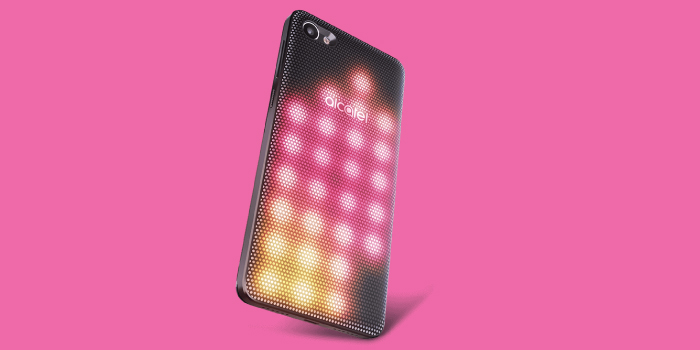 Alcatel A5 LED, World's First Interactive SmartPhone