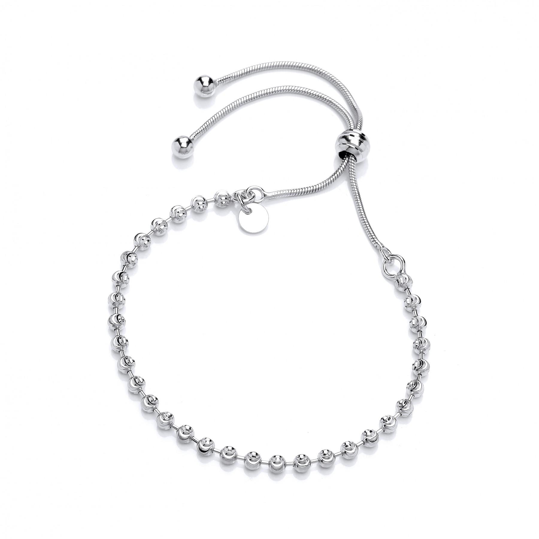 Silver Friendship Bracelet