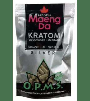 OPMS Red Vein Maeng Da Capsules