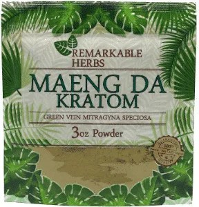 Remarkable Herbs Maeng Da Kratom 3oz