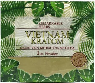 Remarkable Herbs Vietnam Kratom 1oz