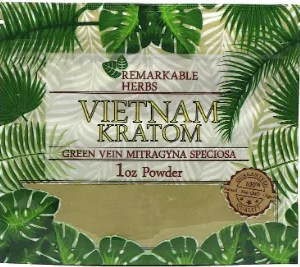 Remarkable Herbs Vietnam Kratom 1oz