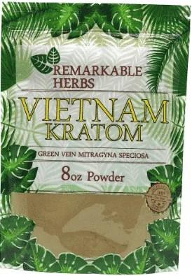 Remarkable Herbs Vietnam Kratom 8oz