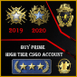 Buy CSGO High Tier Accounts gn3 347wins