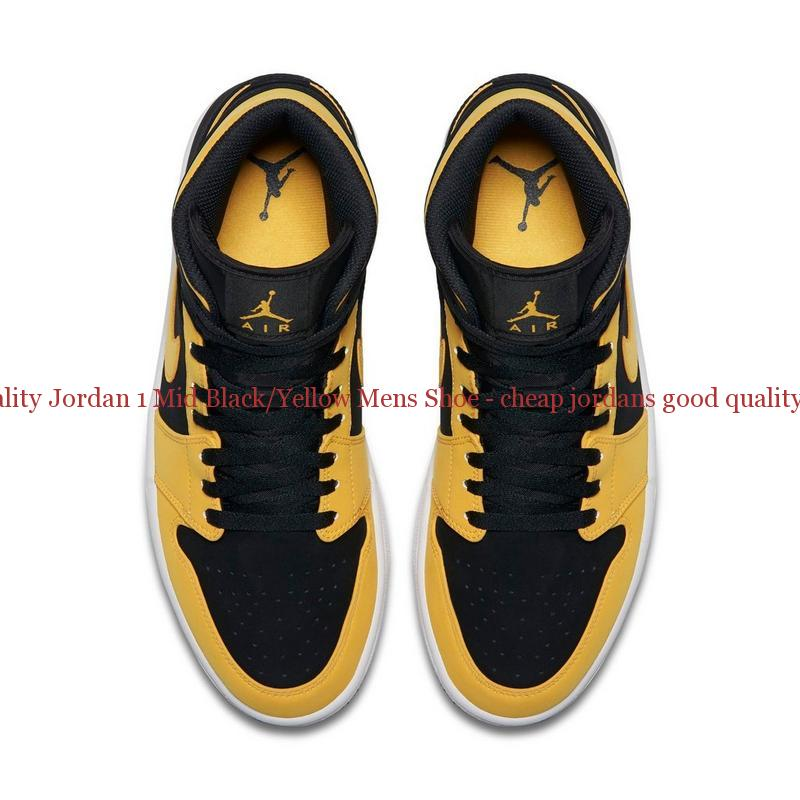 Yellow And Black Jordans Youth