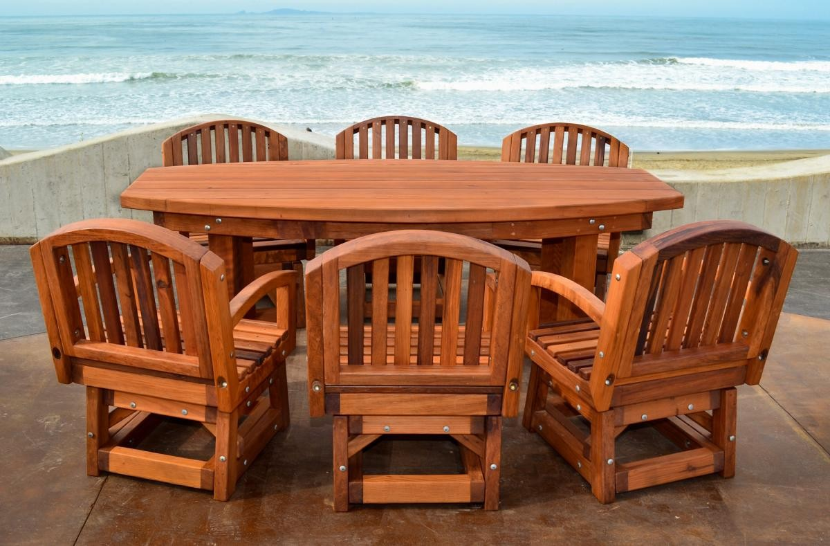 maintaining your redwood furniture
