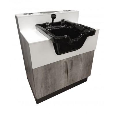 salon shampoo bowls sinks pedestal
