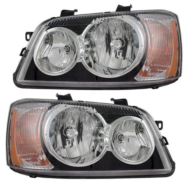 Winnebago Adventurer Replacement Headlight Assembly Pair (Left & Right)