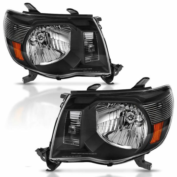 Itasca Suncruiser Performance Black Headlights Unit Pair (Left & Right)