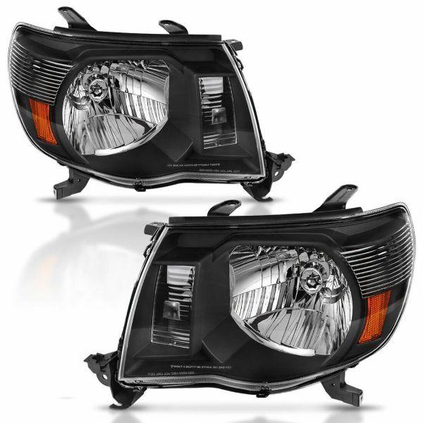Itasca Suncruiser Performance Black Headlights Unit Pair (Left & Right)