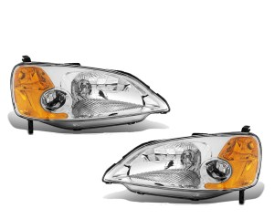 Georgie Boy Velocity Replacement Headlight Assembly Pair (Left & Right)