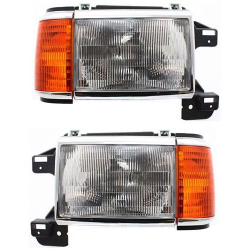 Country Coach Magna Replacement Headlight & Corner Light Assembly Pair (Left & Right)
