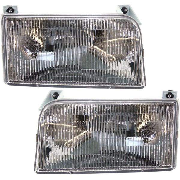 Fleetwood Flair Headlight Assembly Pair (Left & Right)