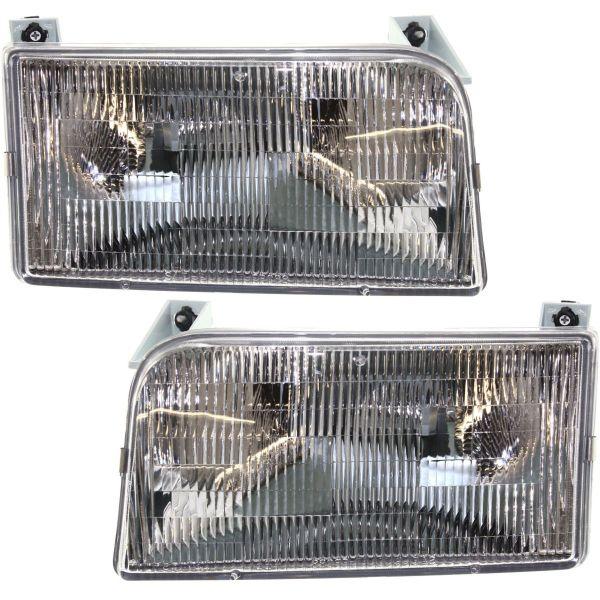 Tiffin Allegro Bus Headlight Assembly Pair (Left & Right)