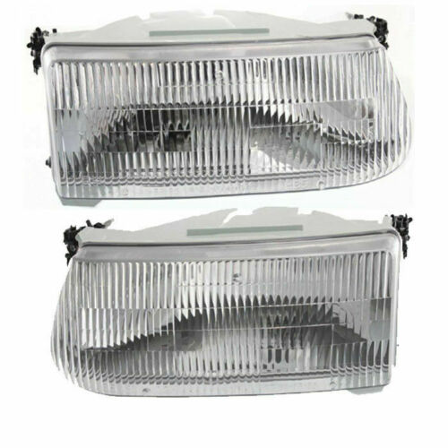 Alfa Gold Replacement Headlight Assembly Pair (Left & Right)