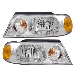 Beaver Motor Coach Monterey Headlight Assembly Pair (Left & Right)