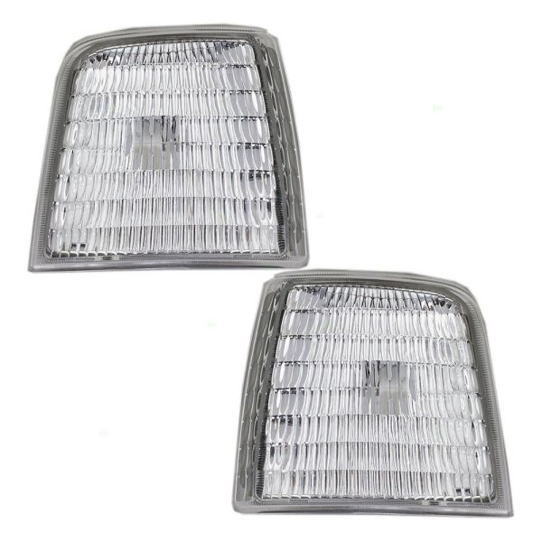 Fleetwood Flair Corner Side Marker Lamps Unit Pair (Left & Right)