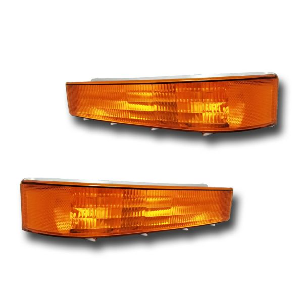 Fleetwood Flair Turn Signal Lamps Unit Pair (Left & Right)