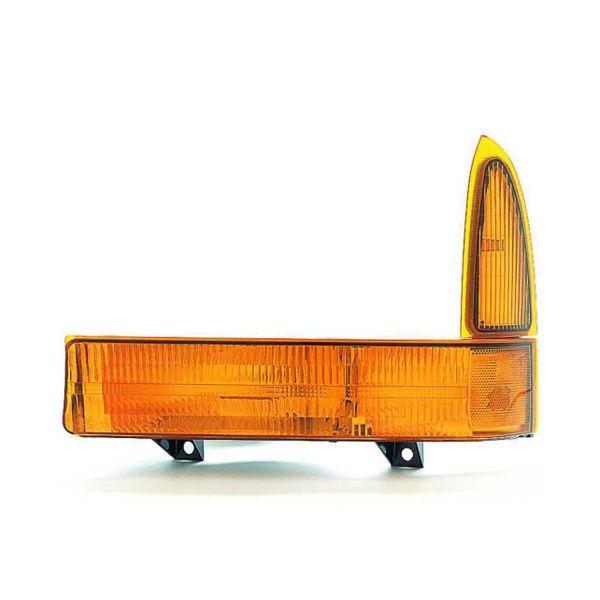 Tiffin Zephyr Left (Driver) Corner Turn Signal Lamp Unit