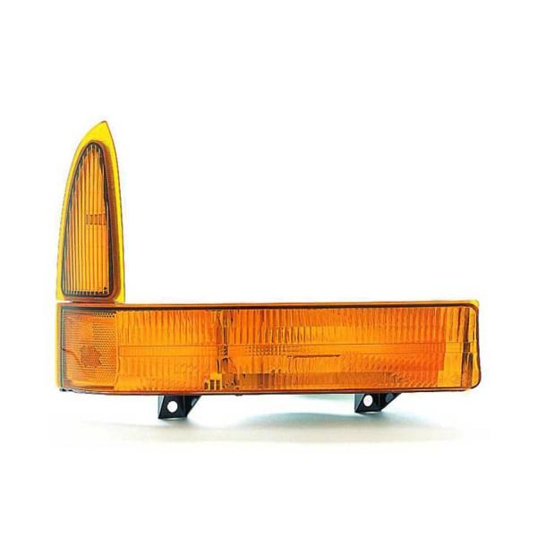Tiffin Zephyr Right (Passenger) Corner Turn Signal Lamp Unit