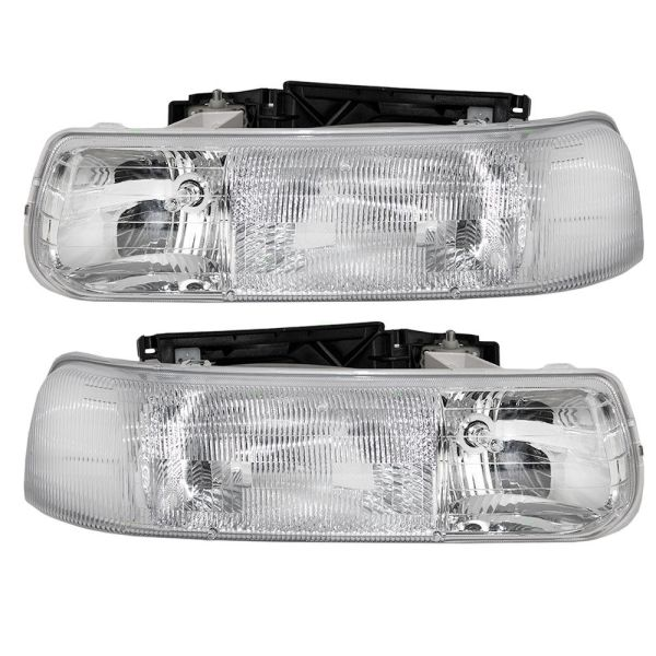 Winnebago Chalet (Class A) Replacement Headlight Assembly Pair (Left & Right)