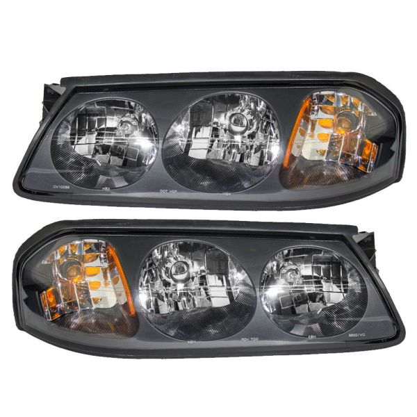 Damon Escaper Replacement Headlight Assembly Pair (Left & Right)