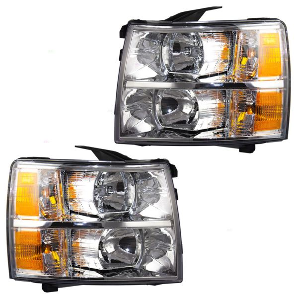 Jayco Alante Replacement Headlights Assembly Pair (Left & Right)