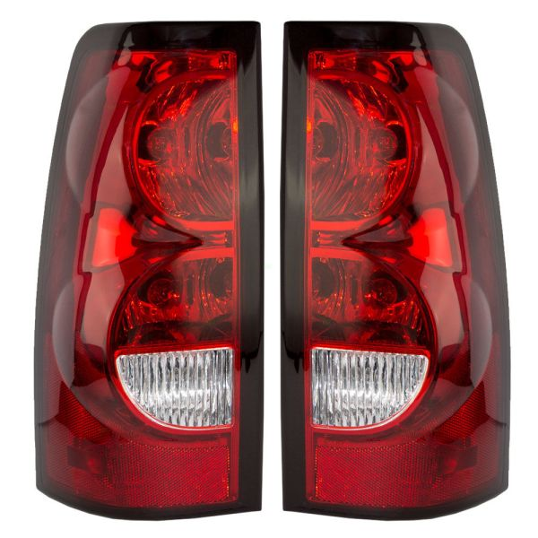 Monaco Dynasty Replacement Lower Tail Light Pair (Left & Right) with Bulbs