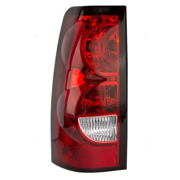 Monaco Dynasty Left (Driver) Replacement Upper Tail Light with bulbs