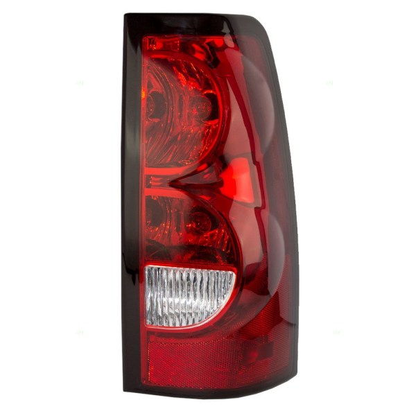 Monaco Dynasty Left (Driver) Replacement Lower Tail Light with Bulbs