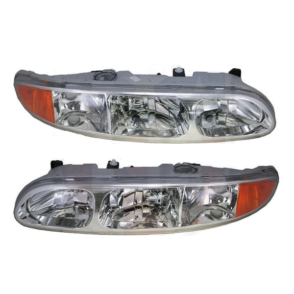 Tiffin Allegro Bay Replacement Headlight Head Lamp Assembly Pair (Left & Right)