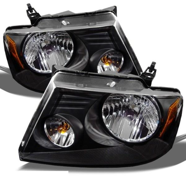 Tiffin Zephyr Black Headlights Unit Pair (Left & Right)