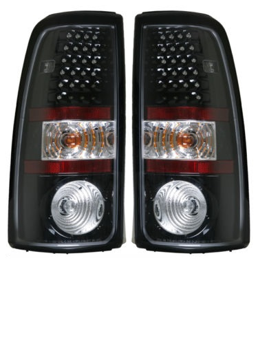Tiffin Zephyr Black LED Lower Tail Light Assembly Pair (Left & Right)