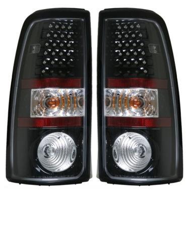 Tiffin Zephyr Black LED Upper Tail Light Assembly Pair (Left & Right)