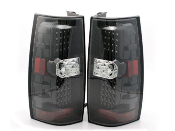 Thor Motor Coach Venetian Upper Black LED Tail Light Assembly Pair (Left & Right)