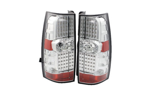 Thor Motor Coach Venetian Upper Chrome LED Tail Light Assembly Pair (Left & Right)