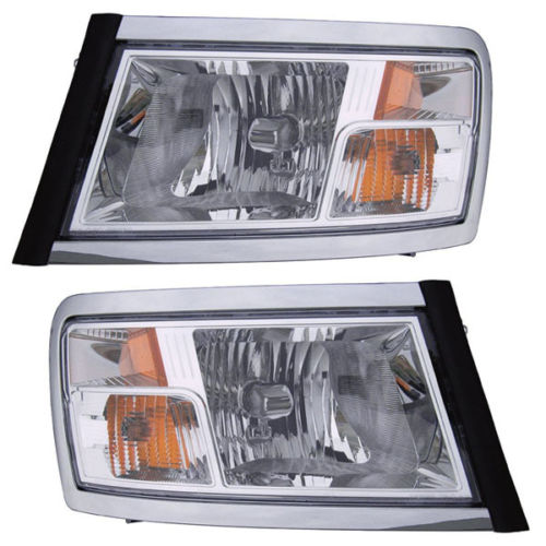 Newmar Canyon Star Replacement Headlights Assembly Pair (Left & Right)