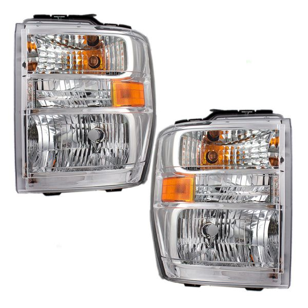 Jayco Redhawk Replacement Headlights Unit Pair (Left & Right)