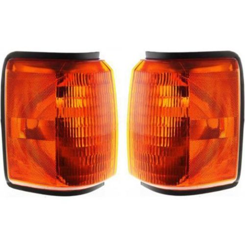 Monaco Windsor Corner Turn Signal Lamps Unit Pair (Left & Right)