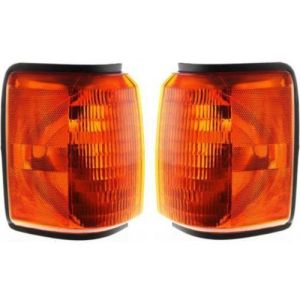 Fleetwood Pace Arrow Corner Turn Signal Lamps Unit Pair (Left & Right)