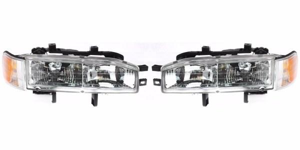 Monaco Knight Headlight & Corner Light Assembly Pair (Left & Right)