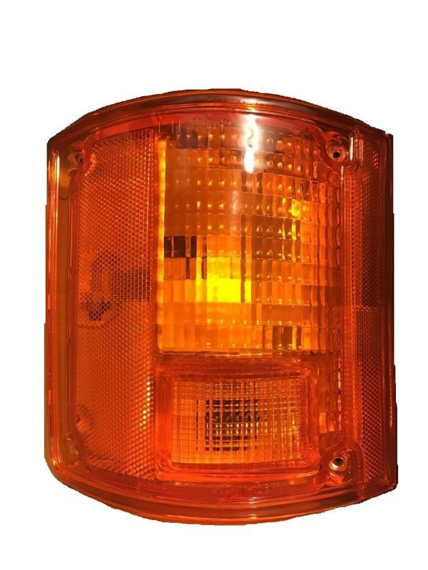 National RV Surf Side Left (Driver) Replacement Rear Turn Signal Light Lens & Housing