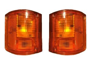 Damon Challenger Replacement Rear Turn Signal Light Lens & Housing Pair (Left & Right)