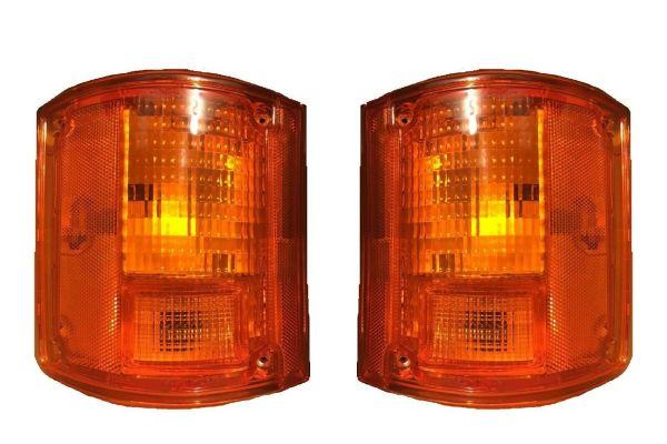 Georgie Boy Pursuit Replacement Rear Turn Signal Light Lens & Housing Pair (Left & Right)