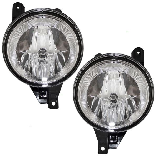 Fleetwood Revolution Replacement Fog Light Assembly Pair (Left & Right)