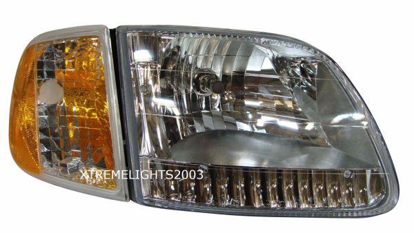 Holiday Rambler Admiral Right (Passenger) Headlight Assembly & Signal Light Unit